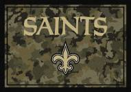 New Orleans Saints NFL Team Camo Area Rug