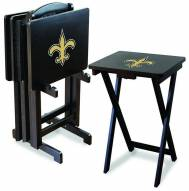 New Orleans Saints NFL TV Trays - Set of 4