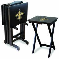 New Orleans Saints NFL TV Trays - Set of 4