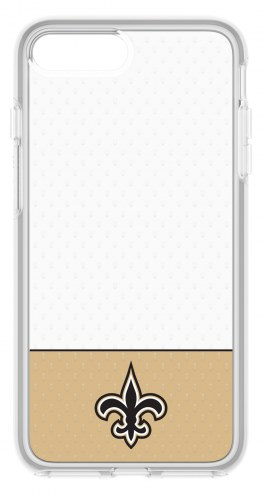 New Orleans Saints OtterBox iPhone 8 Plus/7 Plus Symmetry Clear Case