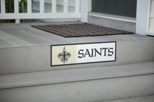 New Orleans Saints Outdoor Step Graphic