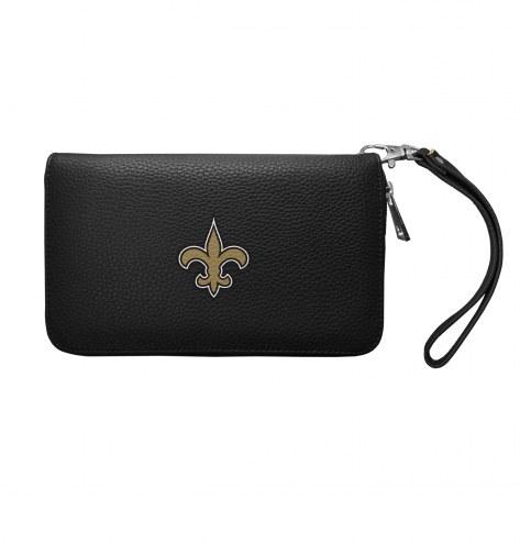 New Orleans Saints Pebble Organizer Wallet