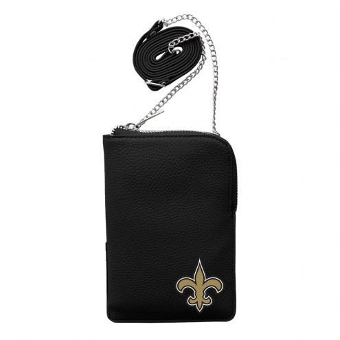 New Orleans Saints Pebble Smart Purse