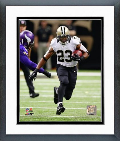 New Orleans Saints Pierre Thomas Action Framed Photo