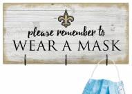 New Orleans Saints Please Wear Your Mask Sign