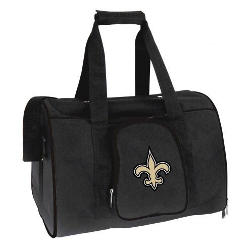 New Orleans Saints Premium Pet Carrier Bag