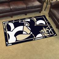 New Orleans Saints Quicksnap 4' x 6' Area Rug