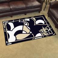 New Orleans Saints Quicksnap 4' x 6' Area Rug