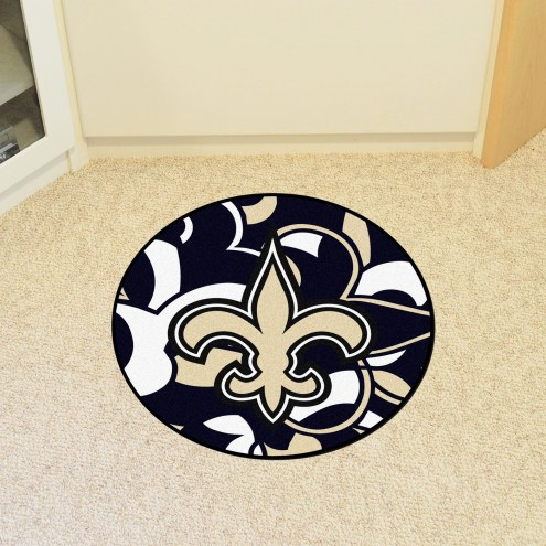 New Orleans Saints Quicksnap Rounded Mat