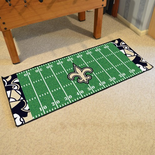 New Orleans Saints Quicksnap Runner Rug