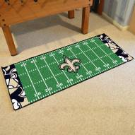 New Orleans Saints Quicksnap Runner Rug
