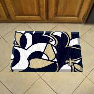 New Orleans Saints Quicksnap Scraper Door Mat