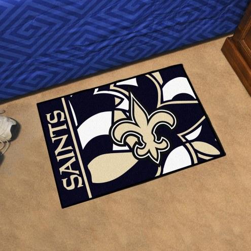 New Orleans Saints Quicksnap Starter Rug