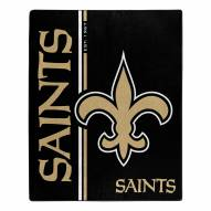 New Orleans Saints Restructure Raschel Blanket