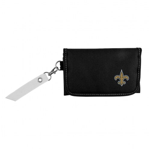 New Orleans Saints Ribbon Organizer Wallet