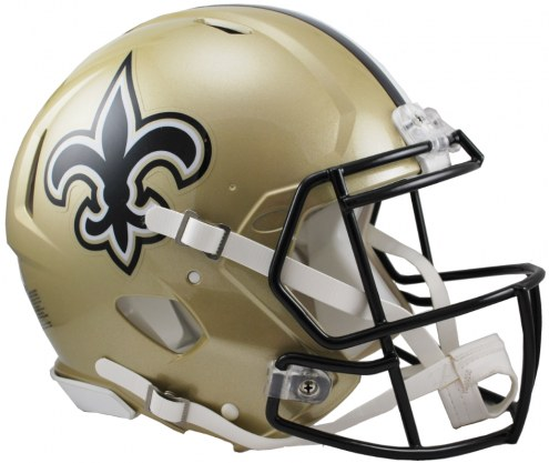 New Orleans Saints Riddell Speed Full Size Authentic Football Helmet