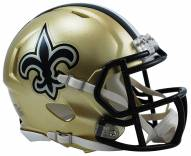 New Orleans Saints Riddell Speed Mini Collectible Football Helmet