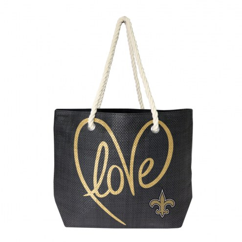 New Orleans Saints Rope Tote