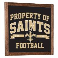 New Orleans Saints Vintage Wall Art