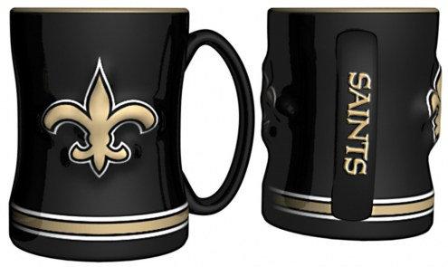 New Orleans Saints Sculpted Relief Coffee Mug