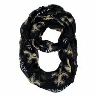 New Orleans Saints Sheer Infinity Scarf