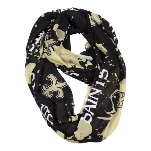 New Orleans Saints Silky Infinity Scarf