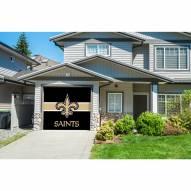 New Orleans Saints Single Garage Door Cover