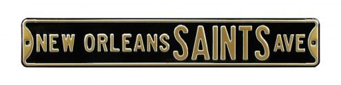 New Orleans Saints Street Sign