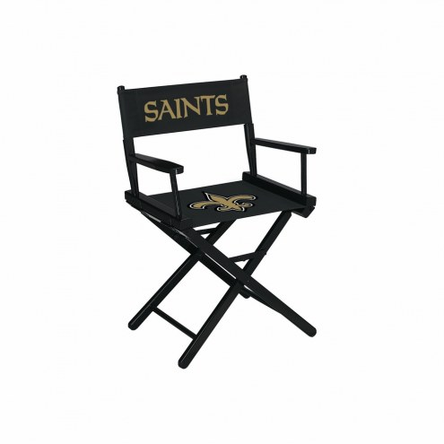 New Orleans Saints Table Height Director's Chair