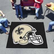 New Orleans Saints Tailgate Mat