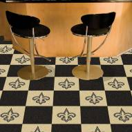 New Orleans Saints Team Carpet Tiles