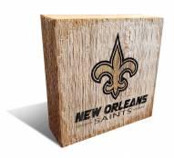 New Orleans Saints Team Logo Block