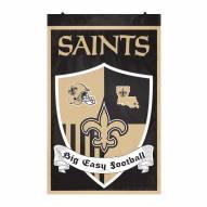 New Orleans Saints Team Shield Banner