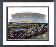 New Orleans Saints The Superdome Super Bowl XLIV Parade Framed Photo
