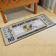 New Orleans Saints Ticket Runner Rug