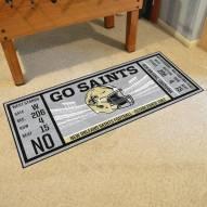 New Orleans Saints Ticket Runner Rug