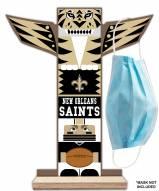 New Orleans Saints Totem Mask Holder