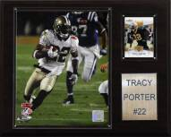 "New Orleans Saints Tracy Porter 12 x 15"" Player Plaque"