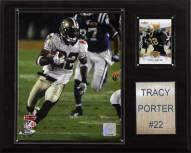 "New Orleans Saints Tracy Porter 12 x 15"" Player Plaque"