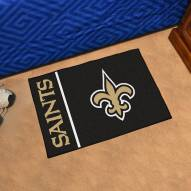 New Orleans Saints Uniform Inspired Starter Rug