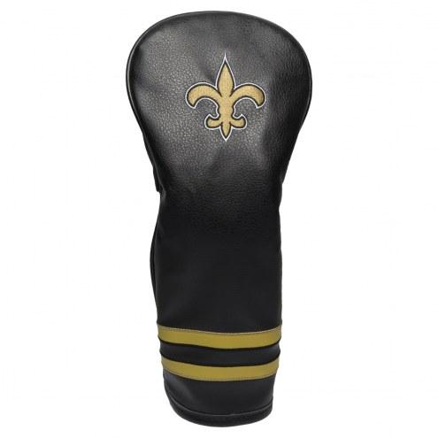 New Orleans Saints Vintage Golf Fairway Headcover