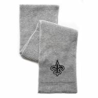 New Orleans Saints Waffle Scarf