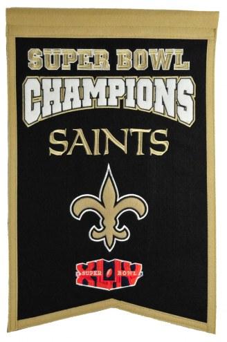 New Orleans Saints Champs Banner