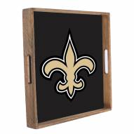 New Orleans Saints Wooden Tray