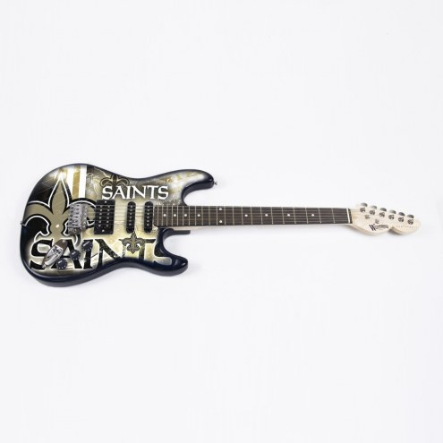 New Orleans Saints Woodrow Northender Electric Guitar