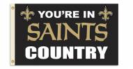 """New Orleans Saints """"You're In Saints Country"""" Flag"""