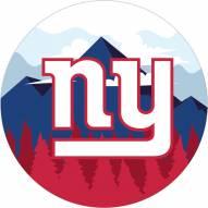 "New York Giants 12"" Landscape Circle Sign"
