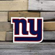 "New York Giants 12"" Steel Logo Sign"