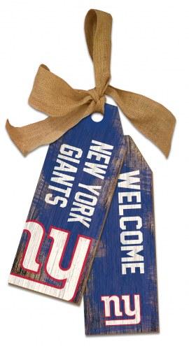 "New York Giants 12"" Team Tags"