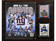 """New York Giants 12"""" x 15"""" All-Time Great Plaque"""